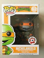 Funko Pop Exclusive Teenage Mutant Ninja Turtles GREYSCALE MICHAELANGELO
