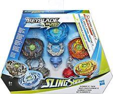 Beyblade Burst Turbo Sling Shock Triple Threat Element-X Pack