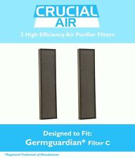 2 GermGuardian Air Purifier HEPA C Filters Fit AC5000 Series FLT5000 & FLT5111