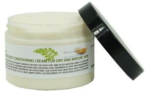Olive & Moringa Deep Conditioning Cream, Dry & Mature Skin, 1 Tub of 150g