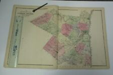 1875 Beers Map of Ulster County, NY