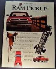 1995 Dodge Ram Pickup Truck Large 44pg Brochure Laramie SLT 1500 2500 3500 4x4