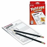 Yahtzee Score Pads for Board Game Refill Pack 80 Cards Hasbro HSB06100