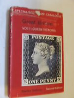 STANLEY GIBBONS Qn VICTORIA SPECIALISED CATALOGUE VOL 1 2nd EDITION