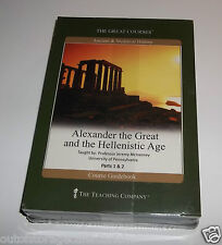 The Great Courses Alexander The Great And The Hellenistic Age Part 1 & 2 - NEW