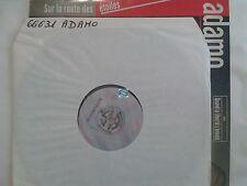 ADAMO SUR LA ROUTE DES ETOILES LP 33T    !!! TEST PRESSING !!!
