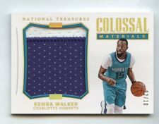 Kemba Walker 2017 National Treasures Colossal Materials Patch #/10