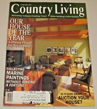 Country Living Magazine February 1997 Collecting Marine Paintings