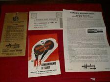 Factory Original Mossberg Model 195 12ga Shotgun Instruction Owners Manual