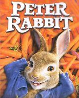 Peter Rabbit 2018 PG family live+animated movie, new DVD, Sam Neil, Rose Byrne