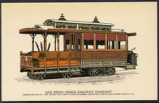 Transport Postcard - San Diego Cable Railway Company  MB441