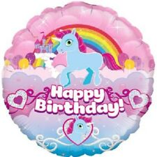 "18"" Foil Holographic Helium Balloon - Unicorn Rainbow Birthday-Party Gift"