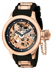 Invicta Men Mechanical Hand Wind Russian Diver 18k Gold Watch 17265