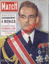 Paris Match n°57-  22/04/1950 couronnement Monaco Rainier Walt Disney Cendrillon