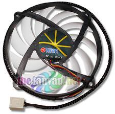 Evercool Titan Extreme Super-Thin Silent 80mm x 15mm Round 4 Pin PWM case fan