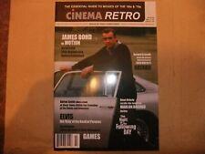 CINEMA RETRO 23 JAMES BOND CARS ELVIS MOVIES MARLON BRANDO JOHN WAYNE HATARI