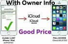 Permanent iCloud Unlock Removal Service iPhones,iPads Fast Instant To 24 Hours <br/> Very fast & remotely permanent service.