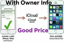 Permanent iCloud Unlock Removal Service 5S - 8 Plus Fast Instant To 24 Hours