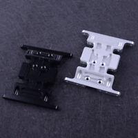 Aluminium Base Métal Centre Dérapage Plaque pour SCX10 Axial RC 1/10 Crawler