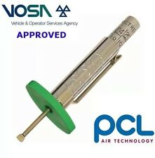 PCL VOSA Approved Tyre Tread Depth Gauge Motorbike Truck Van Car 1.6mm