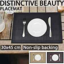 vidaXL 6x Bamboo Placemat Table Linen Mat Tableware with Gauze Multi Colours