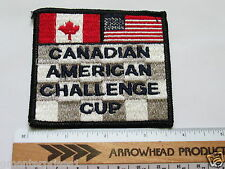 Vintage Canadian American Challenge Cup Patch