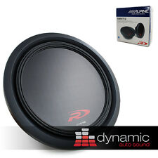 "ALPINE SWR-T12 12"" Single 4 Ohm Shallow Mount Type-R Series Car Subwoofer Sub"