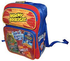 NEW Wacky Packages Backpack Funny Book Bag Kids School Joke Back Pack Comics