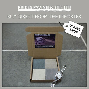 Natural Indian Sandstone Limestone Patio Paving Sample Pack  TRY BEFORE YOU BUY