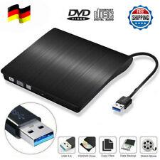USB 3.0 Externes Slim DVD Laufwerk CD-RW DVD Brenner für PC Laptop Mac Notebook
