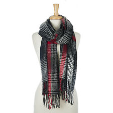 NWT! Red Black and White Scarf