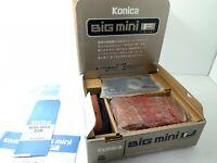 <NEAR MINT+++ BOXED> Konica BIG mini F Limited 35mm AF Film Camera Japan 2366