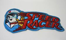 "SPEED RACER Embroidered Iron-On Patch - 4"" -  High Quality"