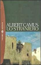 LO STRANIERO di ALBERT CAMUS BOMPIANI EDITORE