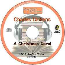 a Christmas Carol - Charles Dickens Mp3 Audio Book 5 Staves/chapters on CD