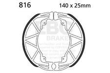 FIT PIAGGIO  Liberty 125 (5 Spoke Wheels) 98>08 EBC Plain Shoe Rear Left