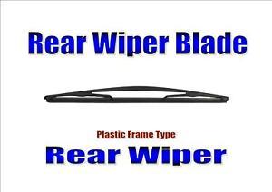 Rear Wiper Blade Back Windscreen Wiper For Honda Jazz 2002-2017