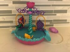 Disney Princess Ariel's Floating Fountain Water Toy with Ariel Figure Mattel