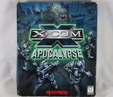 VTG X-Com Apocolypse Big Box CD Rom Video Game PC Micoprose