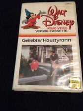 Disney Erstauflage Geliebter Haustyrann Video Verleih Cassette weisses Cover VHS