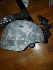 Msa Xl Advanced Combat Helmet Ach Mich X Large Nvg Rhino j-arm nape pad Usgi