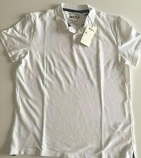 MEXX Men's Polo T-shirt  (XL) White – NWT – MTS0015 -734