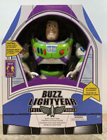 "Disney Store Toy Story 12"" Buzz Lightyear Interactive Talking Action Figure NEW!"