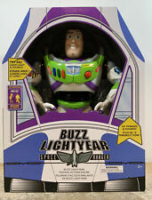 """Disney Store Toy Story 12"""" Buzz Lightyear Interactive Talking Action Figure New!"""