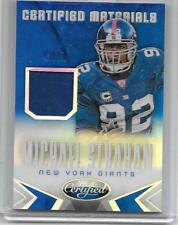 MICHAEL STRAHAN LOT:(2)2014 PANINI CERTIFIED MATERIALS GAME WORN JERSEY#/99,#299