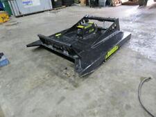skid steer brush mower hog 72 inch NEW MS Attachments Bobcat case Volvo Cat