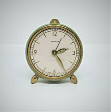 Vintage Veglia Italian small alarm clock.