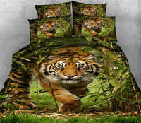 King Of Forest 3D Printing Duvet Quilt Doona Covers Pillow Case Bedding Sets