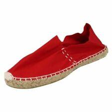 Sandali e scarpe rosse senza marca per il mare da donna