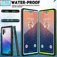 For Samsung Galaxy Note 10 Case Slim Waterproof Rugged Built-in Screen Protector